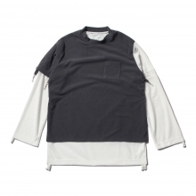 ....... RESEARCH | Fleece Muslin - フリース - Gray
