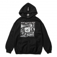 ....... RESEARCH | Protester Hoody - Jerry 鵜飼 - Black