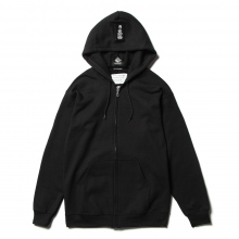 ....... RESEARCH | Protester Zip Hoody - Slogan 文字要素アップデート - Black