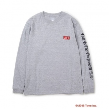 DELUXE CLOTHING / デラックス | DELUXE × LIFE LONG SLV TEE - Gray