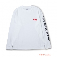 DELUXE CLOTHING / デラックス | DELUXE × LIFE LONG SLV TEE - White
