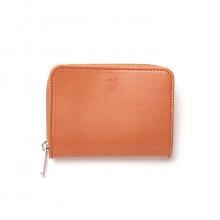 A.P.C. / アーペーセー | PORTEFEUILLE COMPACT 18PC - Brown