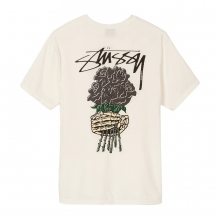 STUSSY / ステューシー | Bouquet Pig Dyed Tee - Natural