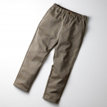 CURLY / カーリー | BLEECKER TAPERED TROUSERS - Beige Check