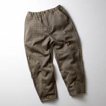 CURLY / カーリー | BLEECKER WIDE TROUSERS - Beige Check
