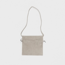 Hender Scheme / エンダースキーマ | red cross bag small - Lighit Gray