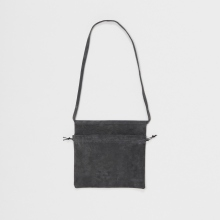 Hender Scheme / エンダースキーマ | red cross bag small - Dark Gray