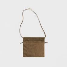 Hender Scheme / エンダースキーマ | red cross bag small - Khaki