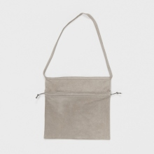 Hender Scheme / エンダースキーマ | red cross bag big - Light Gray