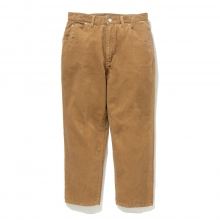 BEDWIN / ベドウィン | STRAIGHT FIT CORDUROY PANTS 「THUNDERS」 - Beige
