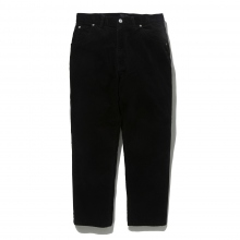 BEDWIN / ベドウィン | STRAIGHT FIT CORDUROY PANTS 「THUNDERS」 - Black