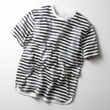 CURLY / カーリー | FROSTED SS BORDER TEE
