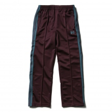 Needles / ニードルズ | Track Pant - Poly Smooth - Bordeaux