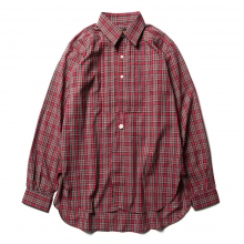 Needles / ニードルズ | Tuxedo EDW Gather Shirt - Liberty Print - Red Plaid