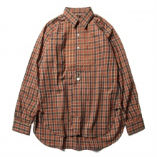 Needles / ニードルズ | Tuxedo EDW Gather Shirt - Liberty Print - Yellow Plaid