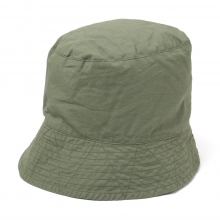 ENGINEERED GARMENTS / エンジニアドガーメンツ | Bucket Hat - Cotton Ripstop - Olive
