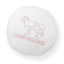 COW BOOKS / カウブックス | Circle Cushion - White