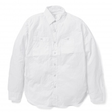 ENGINEERED GARMENTS / エンジニアドガーメンツ | Work Shirt - Cotton Kona - White