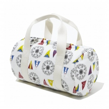 NAISSANCE / ネサーンス|ORIGINAL FLAG PRINT DRUM BAG - White