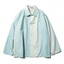 AURALEE / オーラリー | WASHED FINX GRADATION DYE BIG BLOUSON - Morning Blue