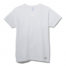 NAISSANCE / ネサーンス | V-NECK T-SHIRT - White