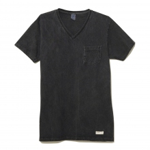 NAISSANCE / ネサーンス | V-NECK T-SHIRT - Charcoal Gray