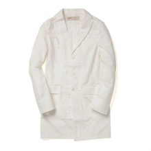 NAISSANCE / ネサーンス|SHOP COAT - White