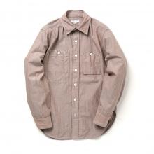 ENGINEERED GARMENTS Work Shirt - C/L HB - Khaki