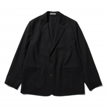 AURALEE / オーラリー | HARD TWIST WOOL DOBBY JACKET - Dark Navy