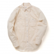 ENGINEERED GARMENTS / エンジニアドガーメンツ|Work Shirt - Cotton HB - Natural