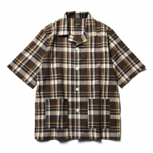 Needles / ニードルズ | Cabana Shirt - C/L Cloth / Plaid - Brown / White