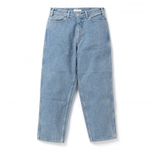 Living Concept / リビングコンセプト | 5POCKET WIDE DENIM PANTS / ICE WASH - Ice Blue ★