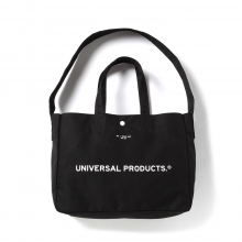 UNIVERSAL PRODUCTS / ユニバーサルプロダクツ | NEWS BAG SMALL - Black