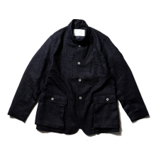 ....... RESEARCH | Country Jacket - Navy × Black