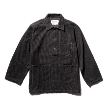 ....... RESEARCH | Army Denim Shirt - C.Gray