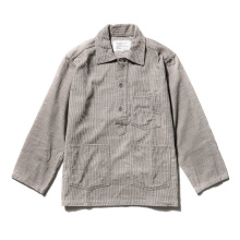 ....... RESEARCH | Army Denim Shirt - Gray