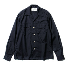 ....... RESEARCH | Open Collared - Navy ★