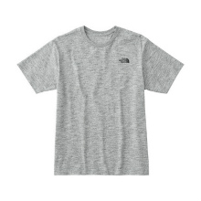THE NORTH FACE / ザ ノース フェイス | S/S Nuptse Cotton Tee - Mix Grey